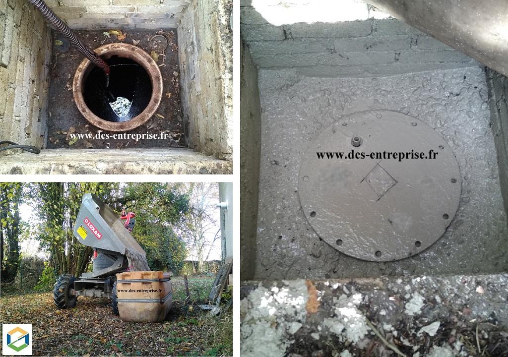 Neutralisation d'une cuve à fioul en Franche-Comté